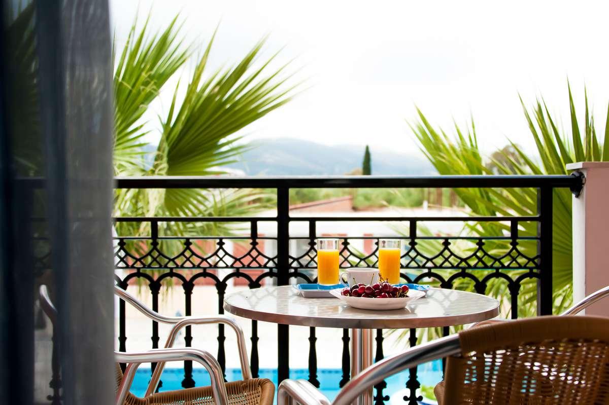 balcony hotel zakynthos Hotel With Pool In Laganas Zante Hera Zakynthos Hotel